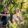 Bernhard und Inge Kirsten im Weinberg, Schlossgut Liebieg, In Via Gustum